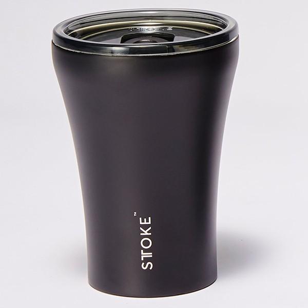 [ストーク]コーヒー保温カップ(236mL) リュクスブラック 日用雑貨 リュクスブラック