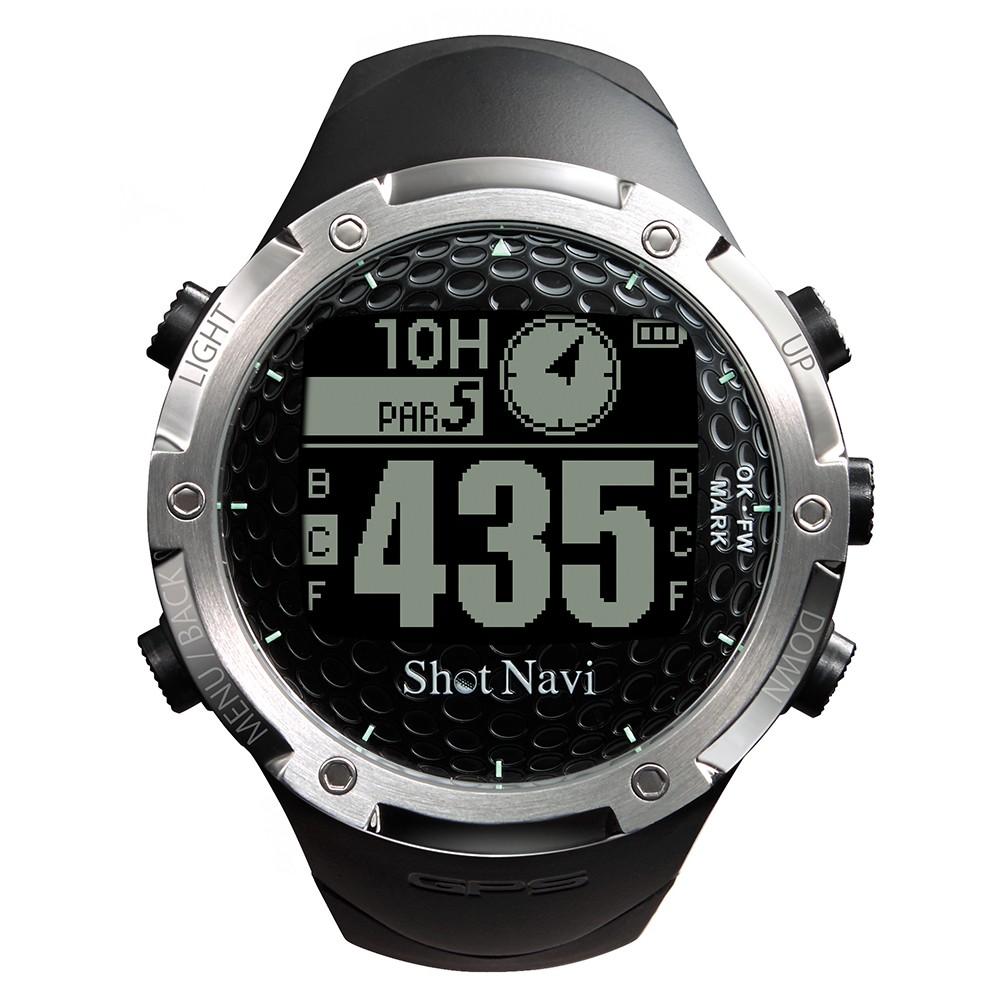 [Shot Navi]GPSゴルフナビ W1-FW ブラック メンズ 時計/アクセサリー ブラック