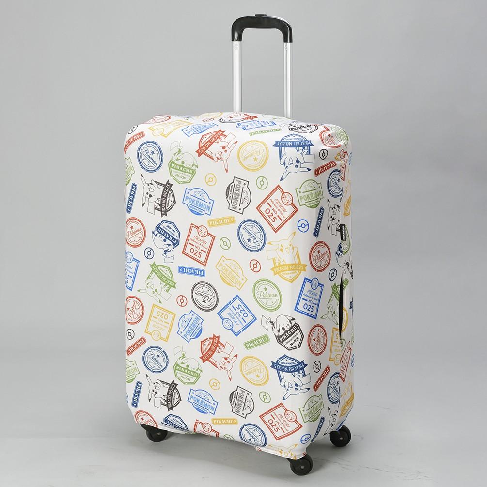 [ポケモン] スーツケースカバーベージュ(Mサイズ)