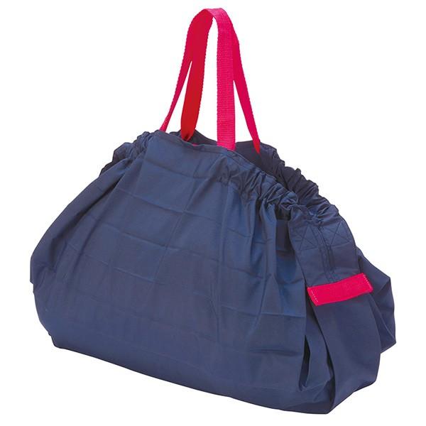 [マーナ]コンパクトバッグ「Shupatto」Lサイズ ネイビー