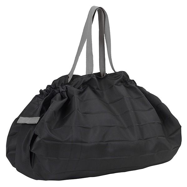[マーナ]コンパクトバッグ「Shupatto」Lサイズ ブラック