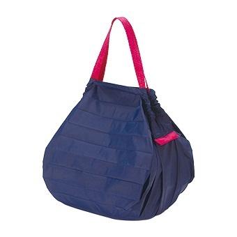 [マーナ]コンパクトバッグ「Shupatto」Mサイズ ネイビー