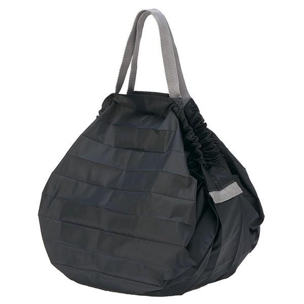 [マーナ]コンパクトバッグ「Shupatto」Mサイズ ブラック