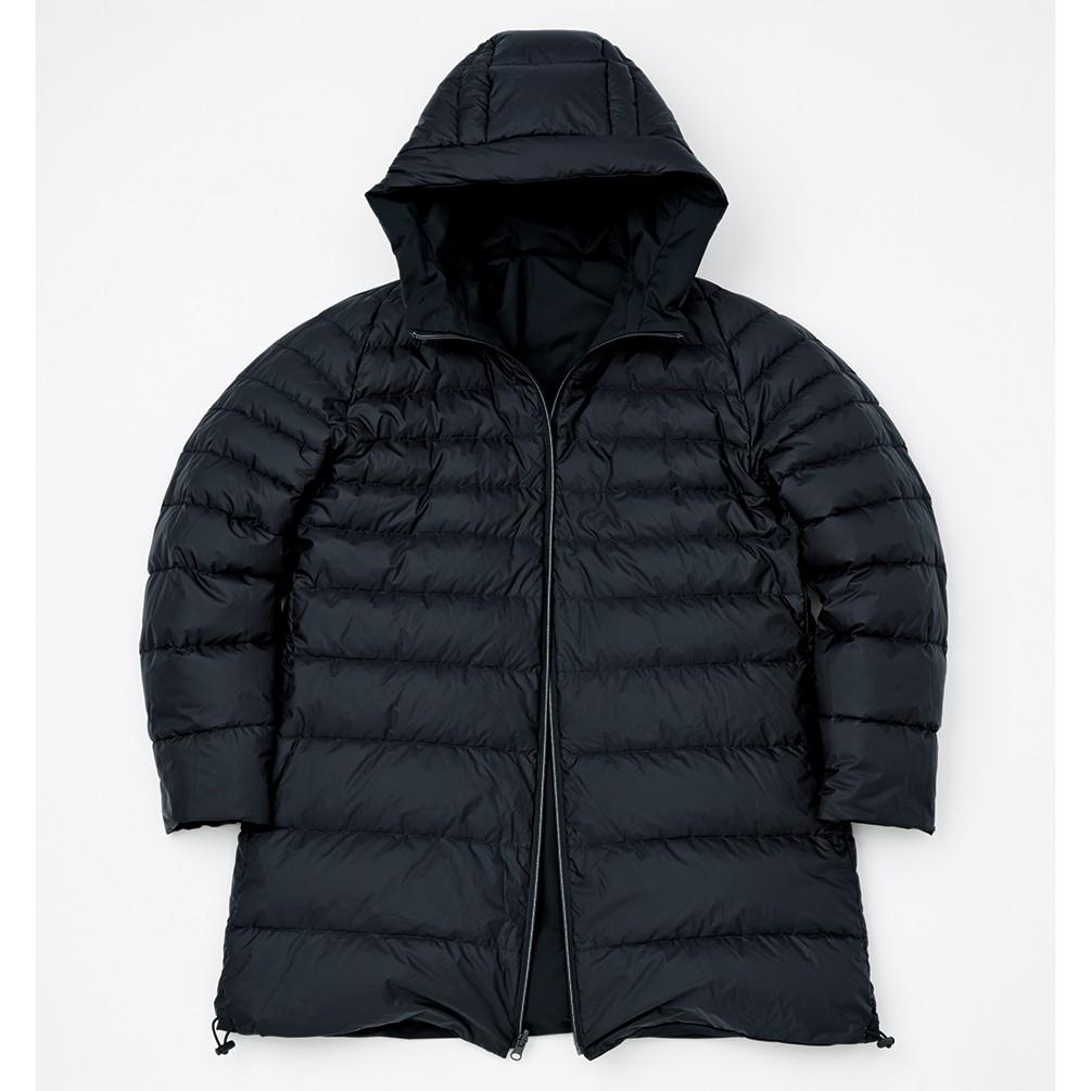 [第一織物xJALショッピング]コルディス リバーシブルストレッチダウンコート ブラックxブラック S