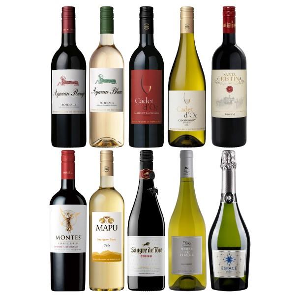 エノテカおすすめ 今が飲み頃!世界のワイン10本セット