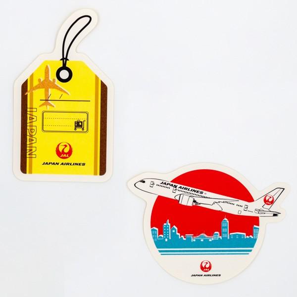 [JALオリジナル]ステッカー2枚入り ラウンド 生活雑貨 ラウンド