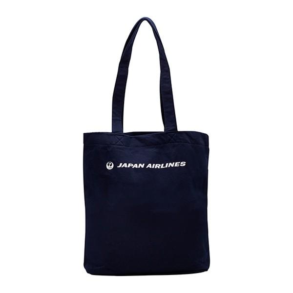 [JALオリジナル]スウェットトートバッグ 縦型 ネイビー トートバッグ ネイビー