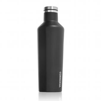 [コークシクル]ステンレス保冷保温ボトル470ml ブラック