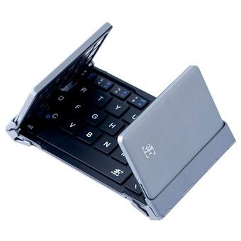折りたたみ式Bluetoothキーボード ブラック