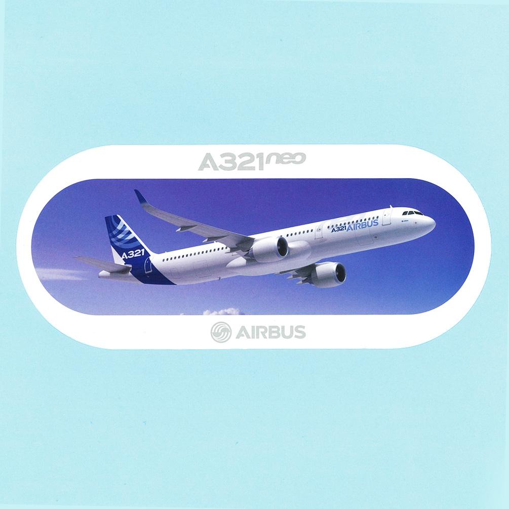 [エアバス]ステッカー A380 A321neo