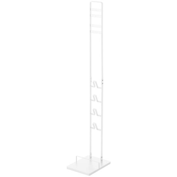 [山崎実業]towerコードレスクリーナースタンド ホワイト 大型家具 ホワイト