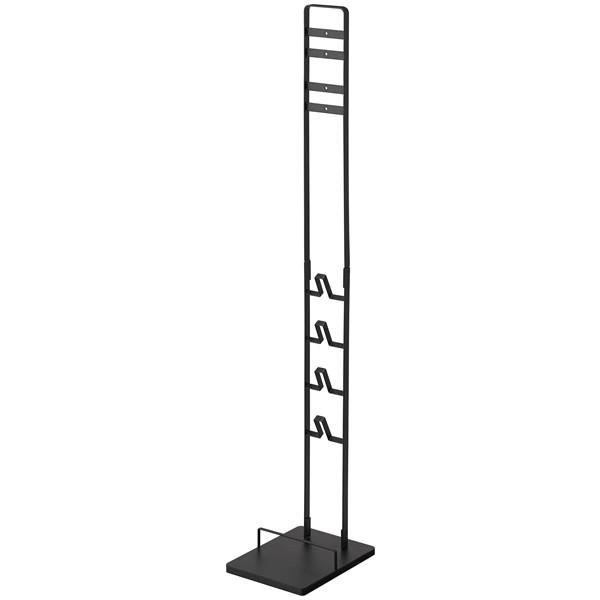 [山崎実業]towerコードレスクリーナースタンド ホワイト 大型家具 ブラック