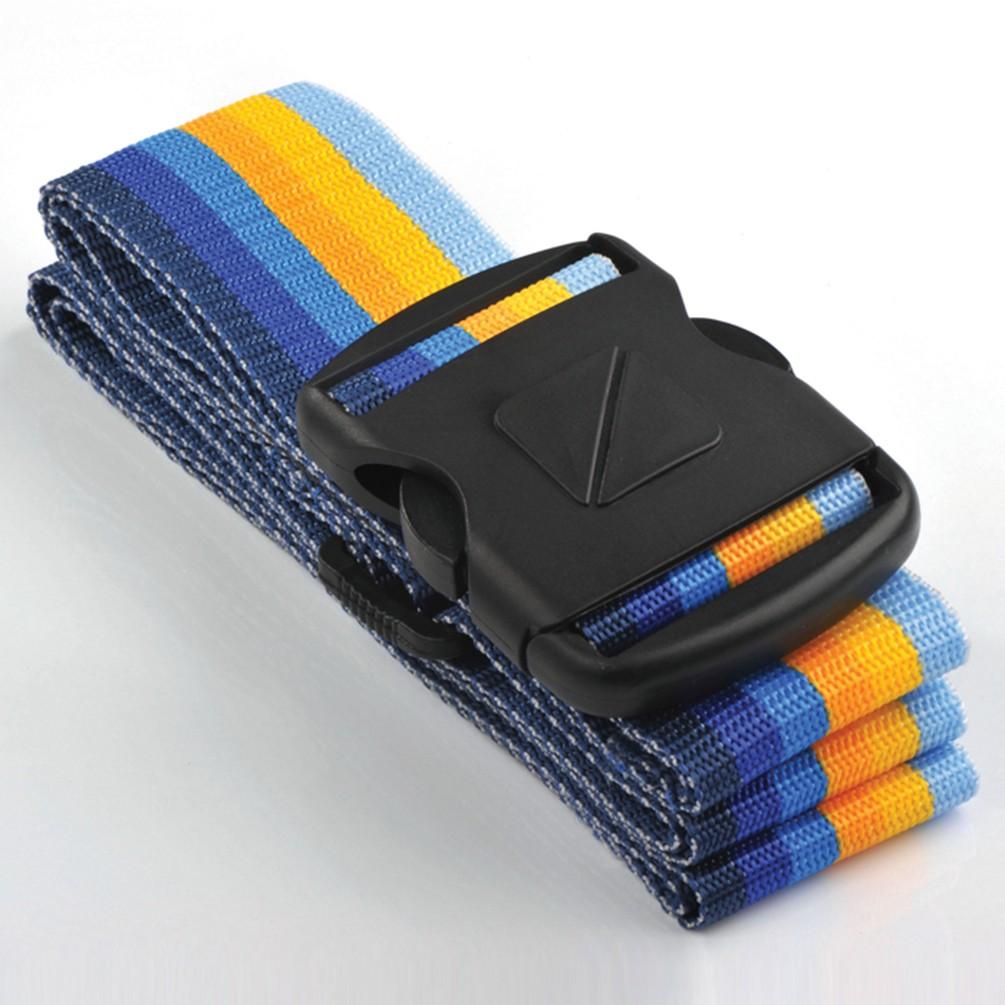 [Travel Blue]荷物ストラップ5cm ブルー