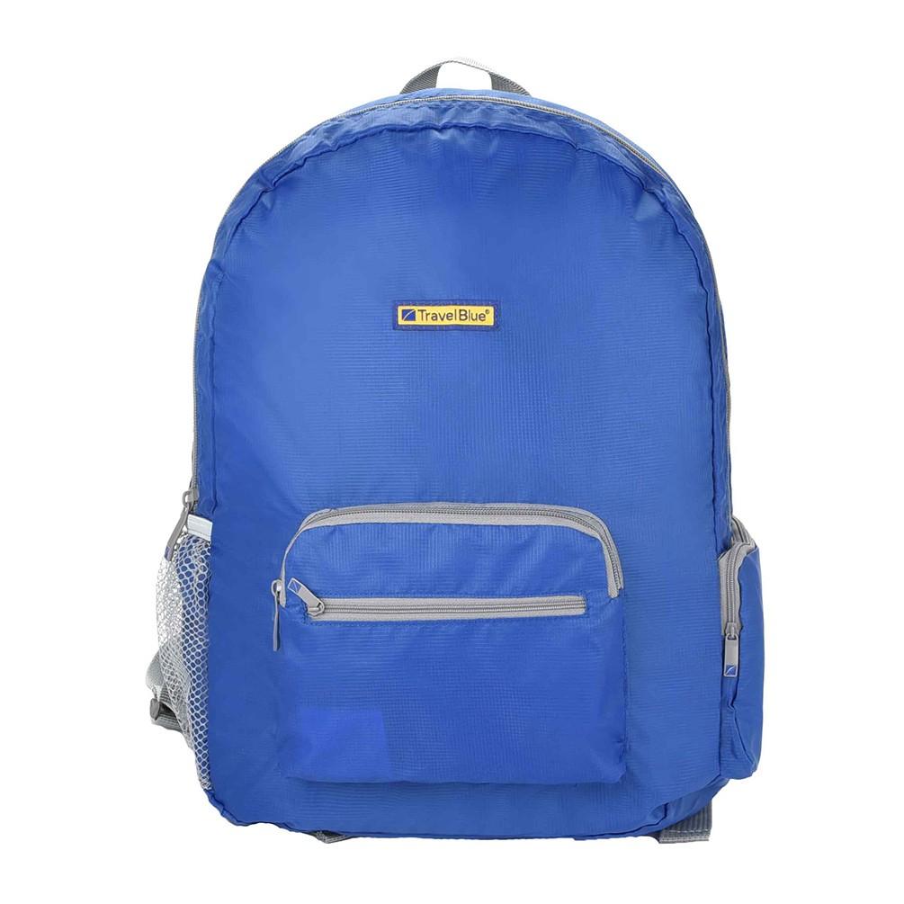 [Travel Blue]折り畳み式バックパック ブルー