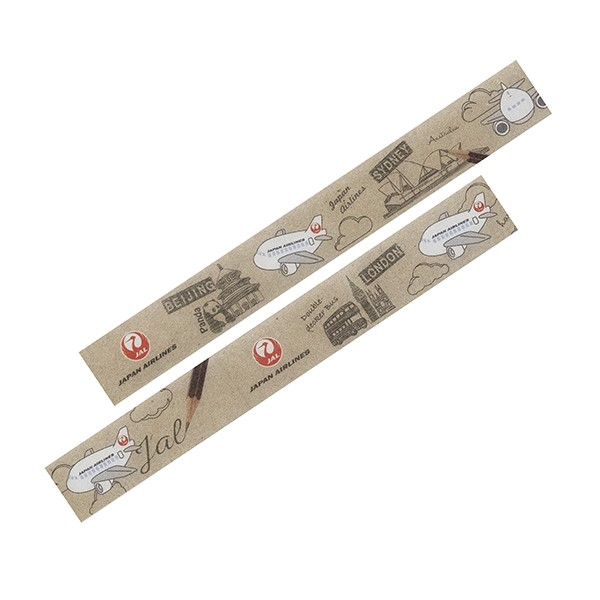 [JALオリジナル]マスキングテープ 旅行スケッチ 生活雑貨 海外旅行