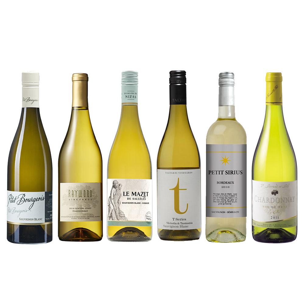 【JALUX直輸入】 白ワイン6本セット