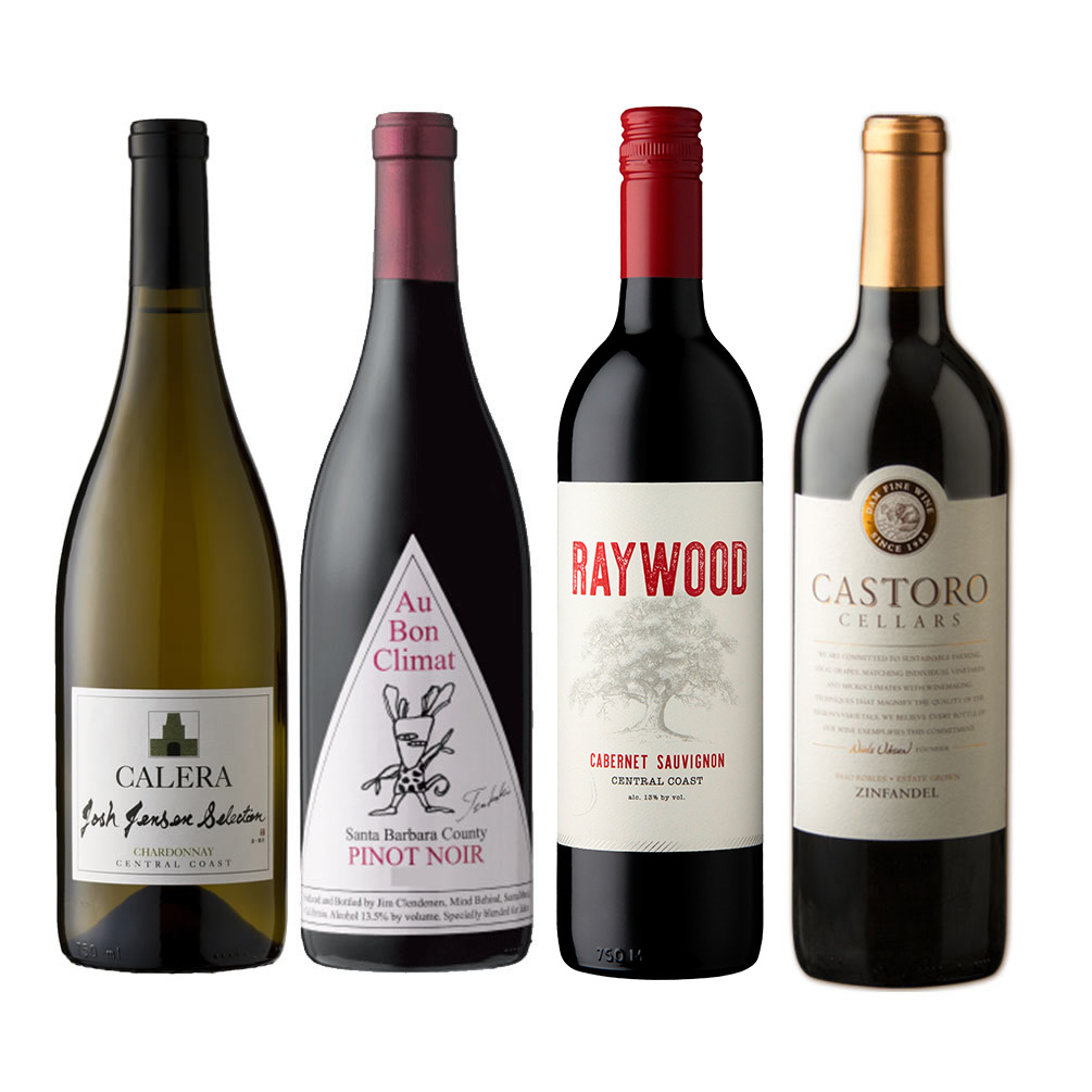 【JALUX直輸入】カリフォルニアワイン4本セット