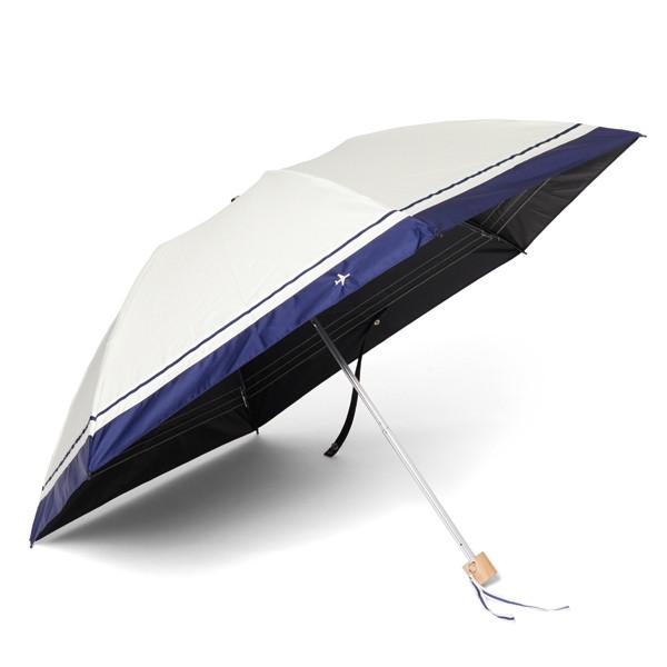 [オーロラxJALショッピング]東レ サマーシールドLi クイックオープン晴雨兼用傘 エクリュベース
