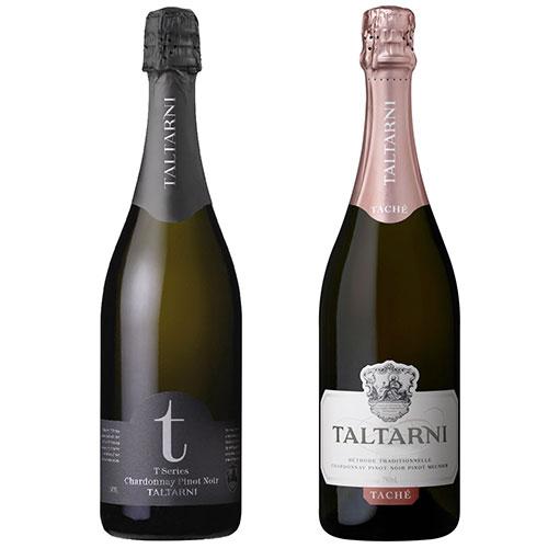 〈タルターニ〉ブリュット・タッシェ&Tシリーズ・スパークリング 2本セット