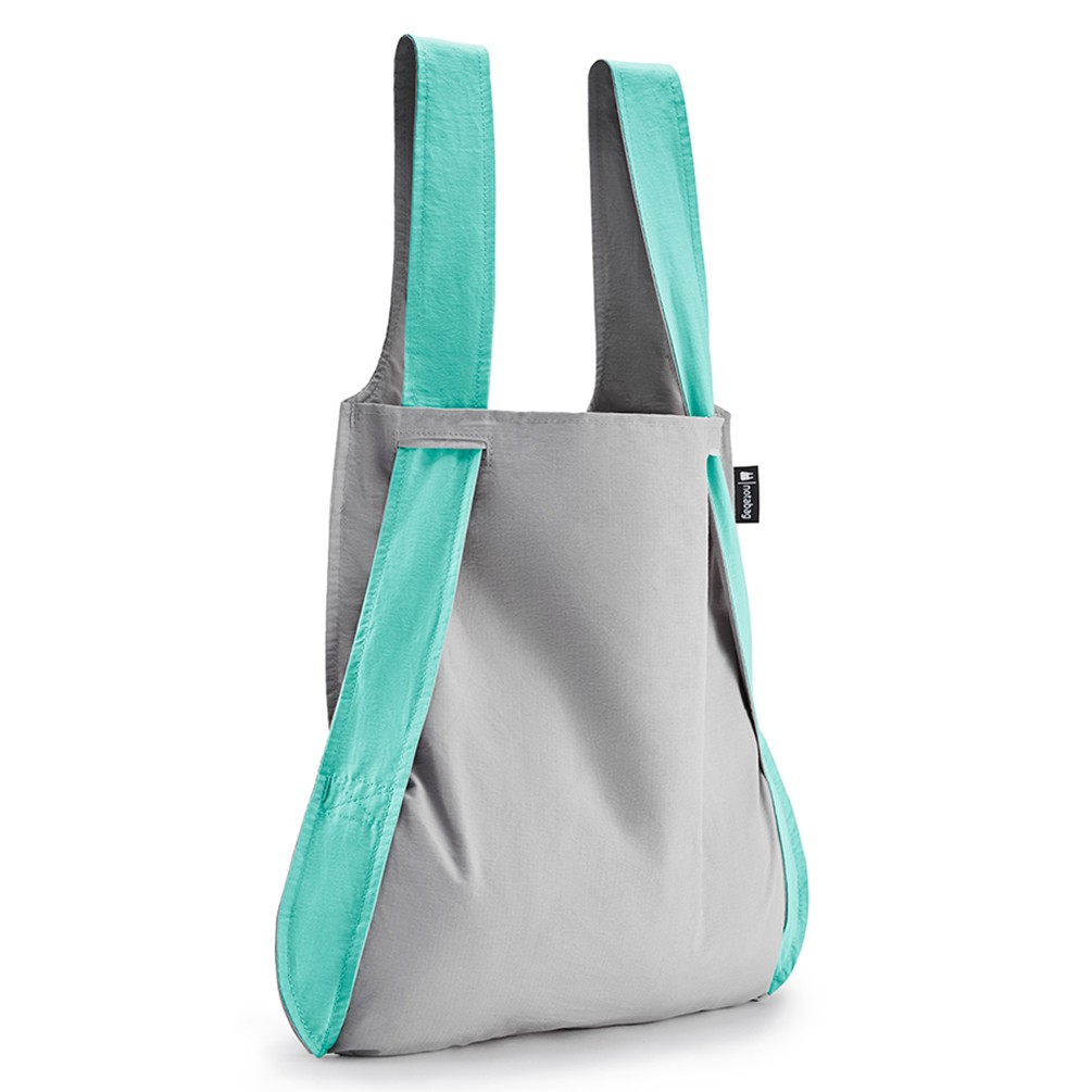 [notabag]バッグ&バックパック グレー/ミント トートバッグ グレー/ミント