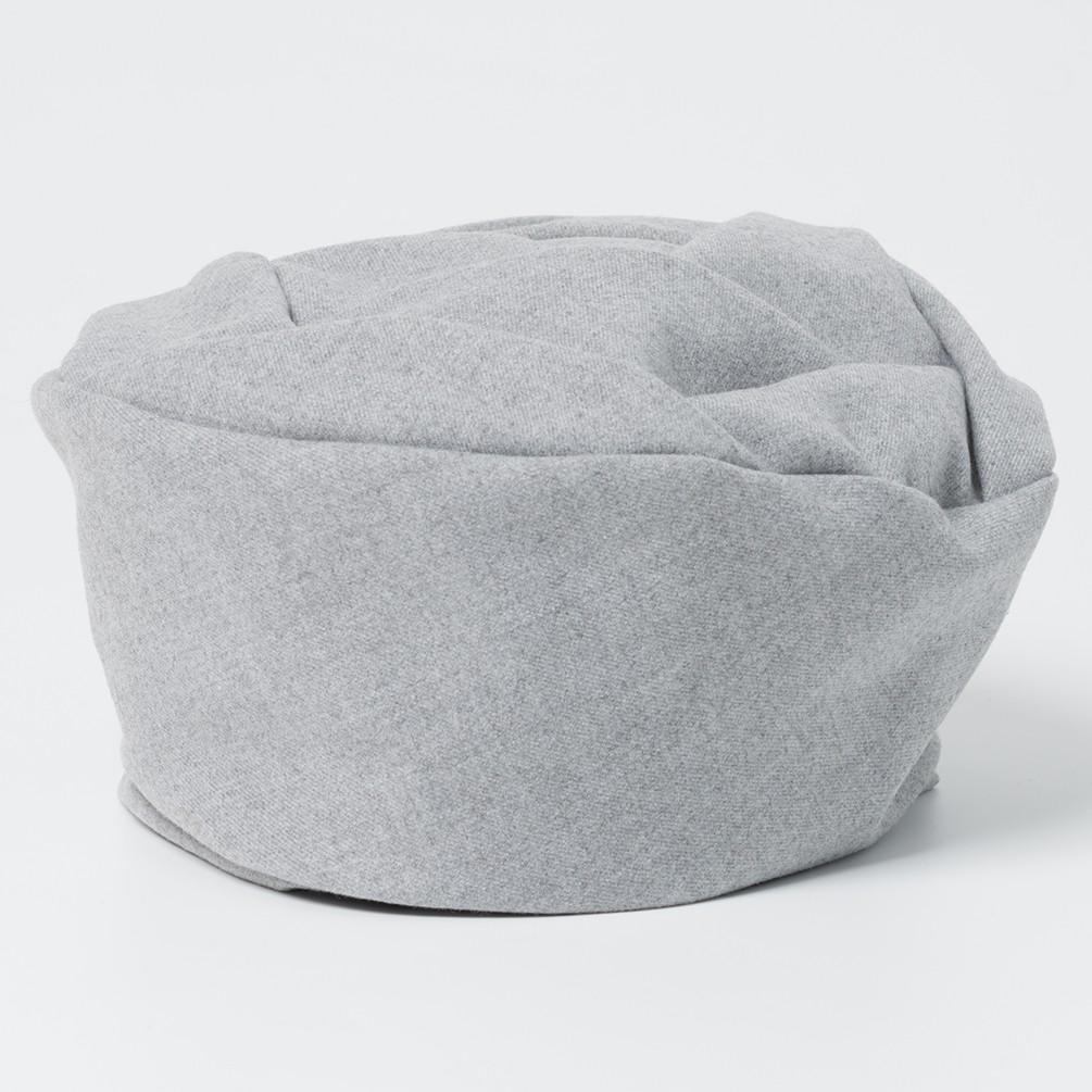 [キオッチョラ]日本製バラベレー帽 バーガンディ レディース ファッション雑貨 グレー