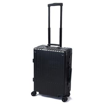 1b87591cb8 〈イノベーター〉10周年記念アルミスーツケース レーザー刻印モデル36L ステルスブラック