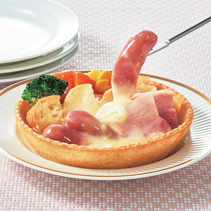 レンジで簡単チーズフォンデュタルト