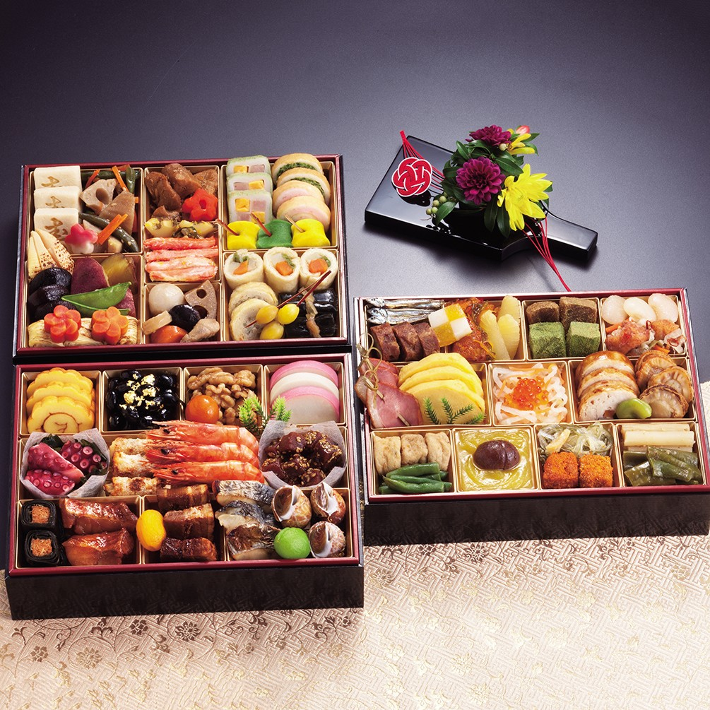 京都しょうざん 和風おせち料理「華錦」三段重