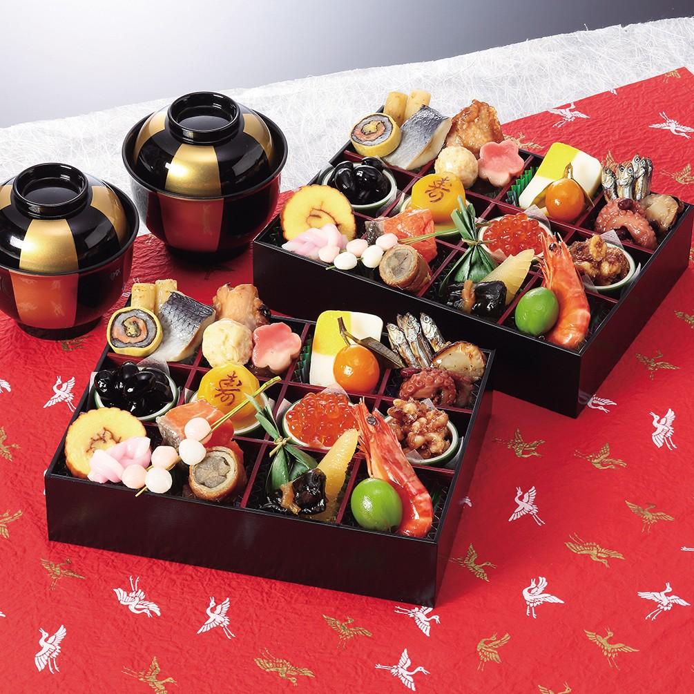 割烹料亭〈千賀〉迎春おせち料理「舞千」