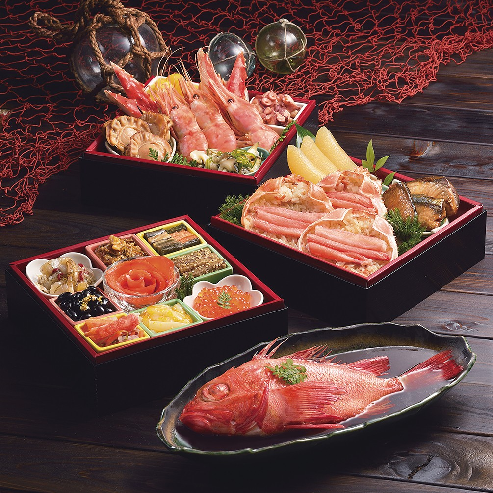 〈札幌市中央卸売市場発〉海鮮おせち 北の漁師膳