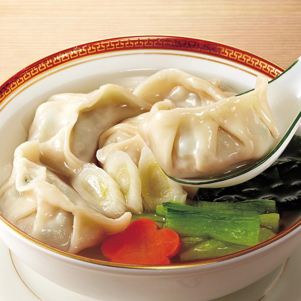 [白金瓦房]スープ水餃子