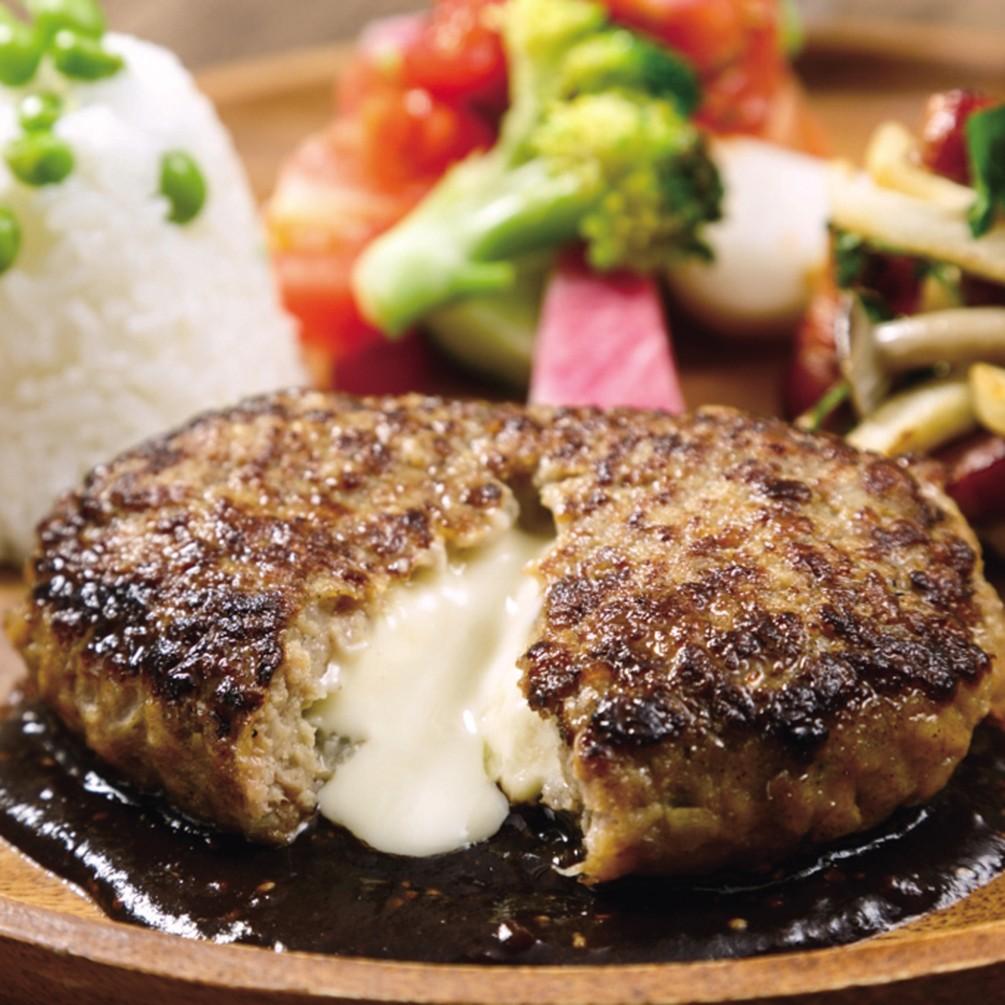 【よりどり6点9,900円(税抜)】よりどり冷凍マルシェ 鉄板焼きチーズインハンバーグ