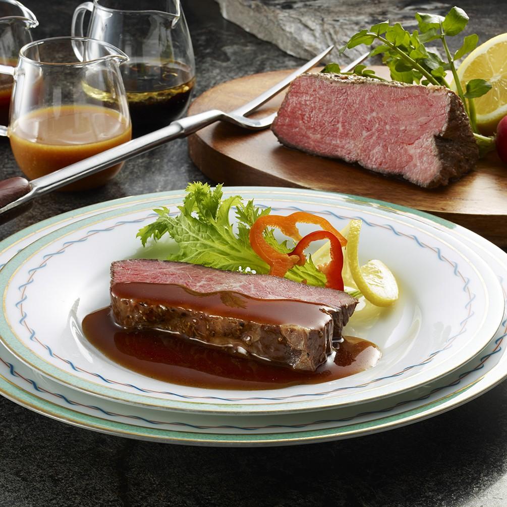 横浜ロイヤルパークホテル監修3種ソースで味わうローストビーフ