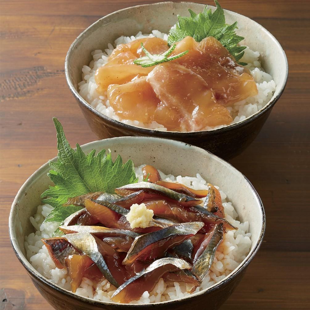 〈宇佐もん工房〉土佐の海鮮丼の素 5種セット