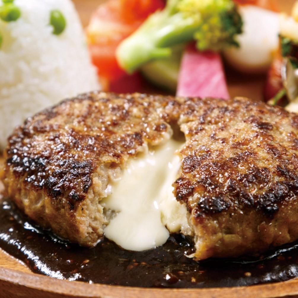 【よりどり6点9,900円(税抜)】よりどり冷凍マルシェ 鉄板焼チーズインハンバーグ