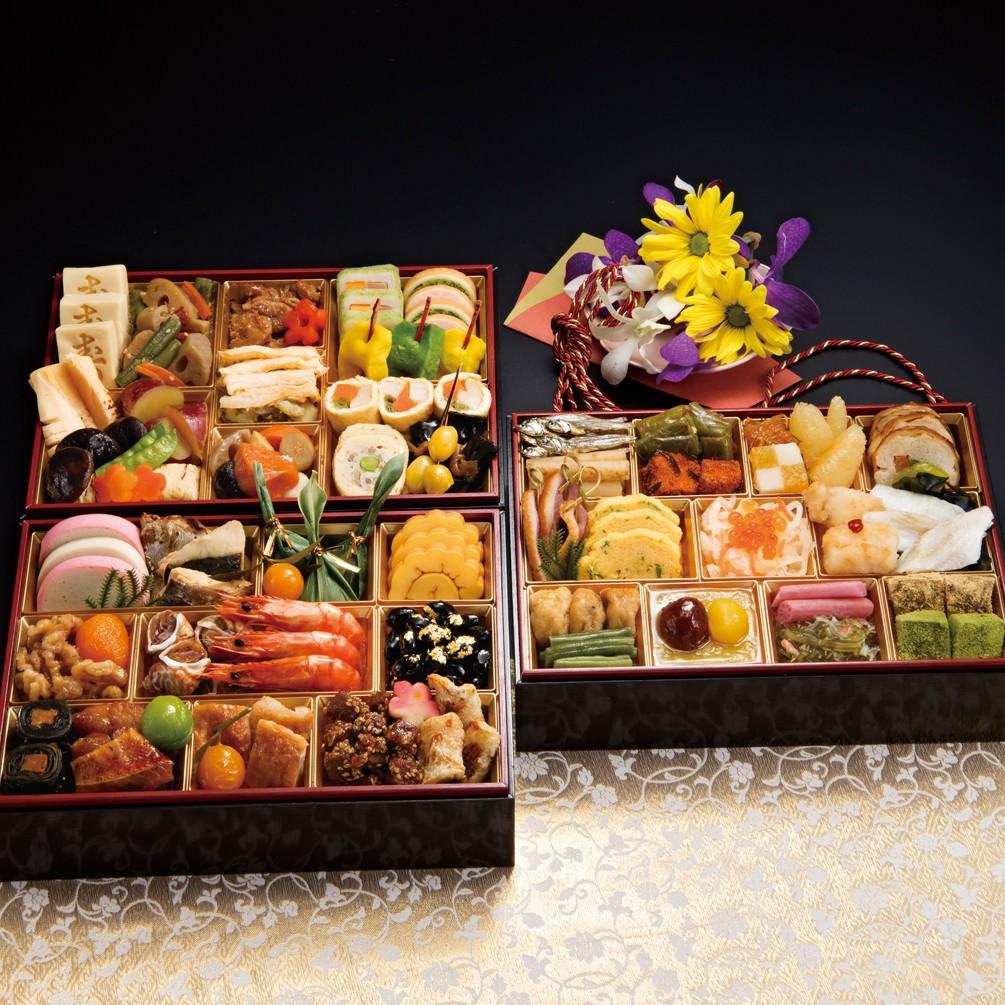 [京都しょうざん]和風おせち料理「華錦」三段重