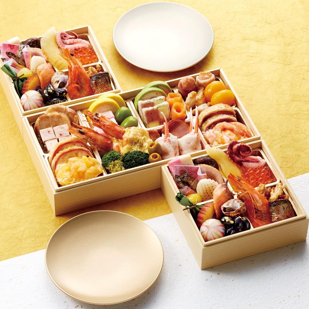 [加賀・山代温泉・宝生亭]個食おせち&オードブル