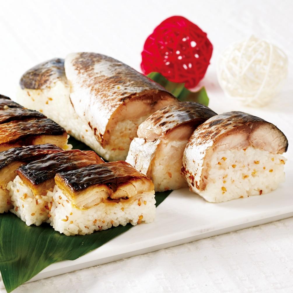 [鯖や SABAR]とろ鯖棒寿司&焼き鯖寿司セット