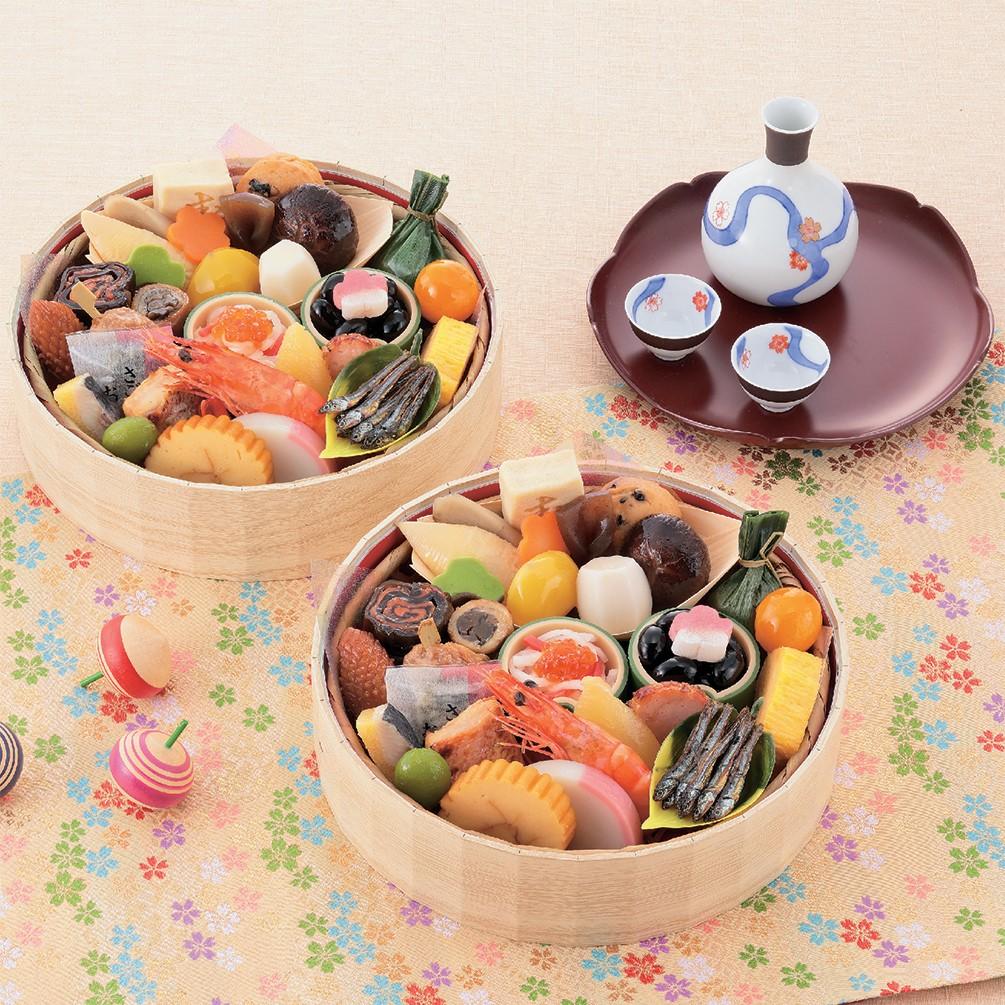 京菜味のむら「花籠」二段
