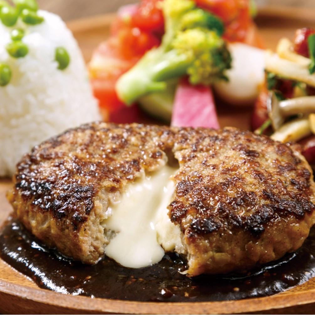 【よりどり3点5,378円(税込)】よりどり冷凍お惣菜マルシェ 鉄板焼チーズインハンバーグ
