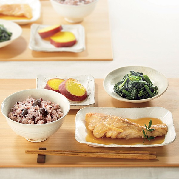 [たらやキッチン]手作り健康御膳セットB