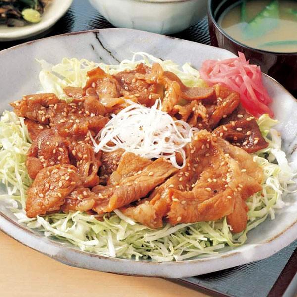 【よりどり3点5,378円(税込)】よりどり冷凍お惣菜マルシェ 和風もち豚生姜焼き
