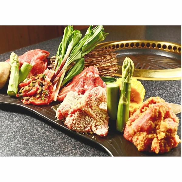 【食品ロス・食べて応援】五種の味付けジンギスカン(サフォーククロスラム)