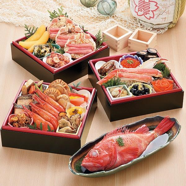 [札幌市中央卸売市場発]海鮮おせち「北の漁師膳」