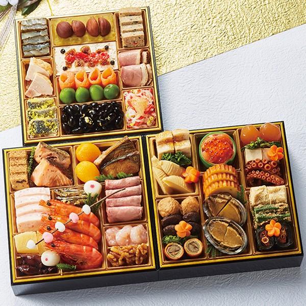 [千里山荘]おせち料理三段重