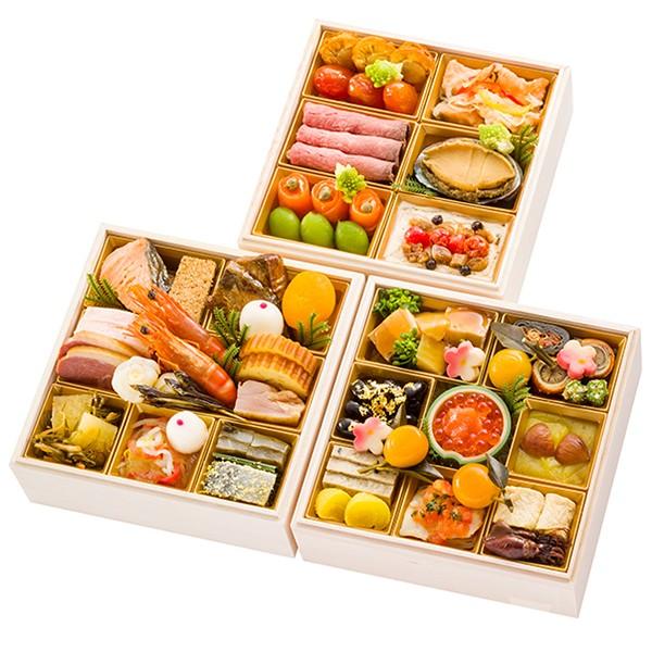 [千里山荘]おせち料理和洋三段重