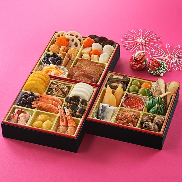 [石井食品]和風おせち三段重「祝春華」