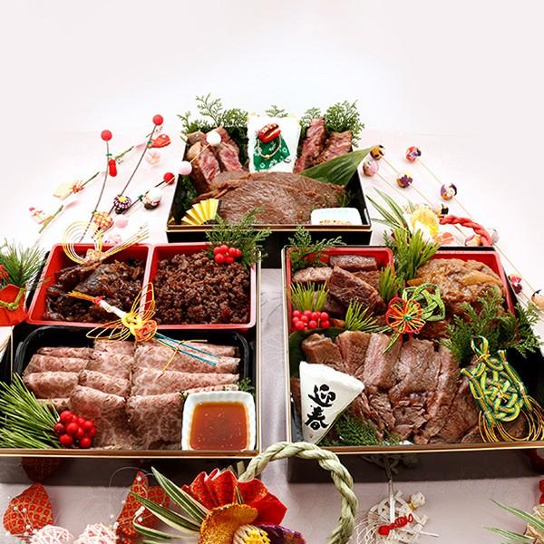 最高級A5ランク 仙台牛お肉のおせち