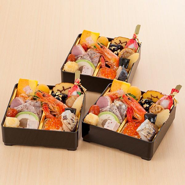 加賀[ 月うさぎの里 加賀兎郷]和洋個食おせち(3折)