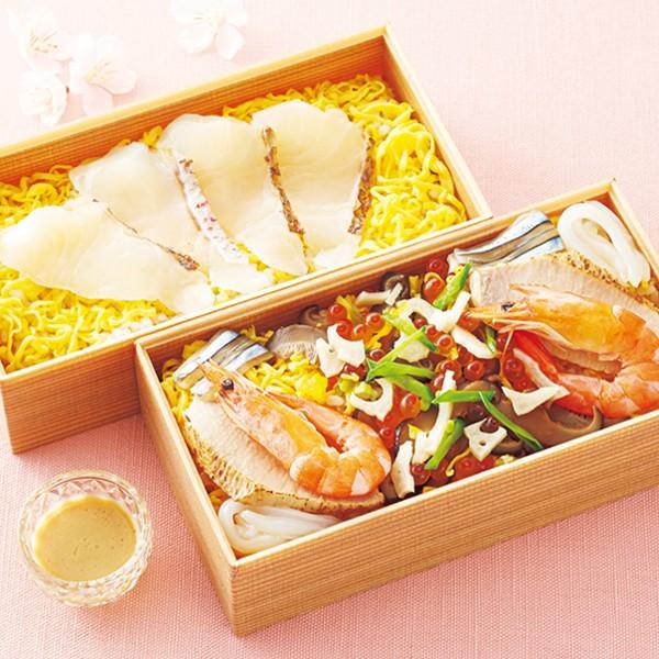 [宮崎料亭ひだか]海鮮ちらし寿司(二人前×2種)
